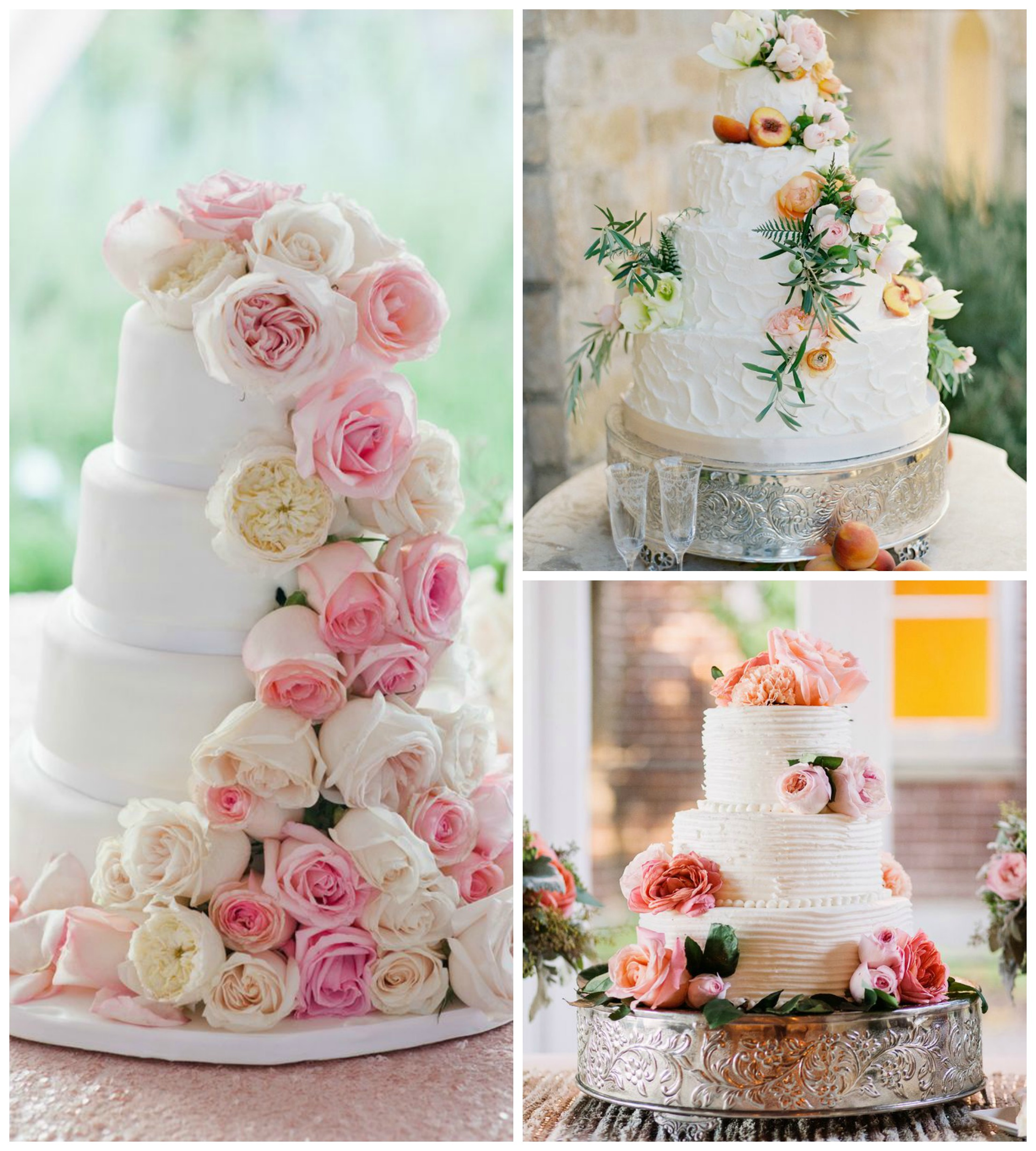 Wedding Cake Flowers Edible: Sophisticated Woman Magazine