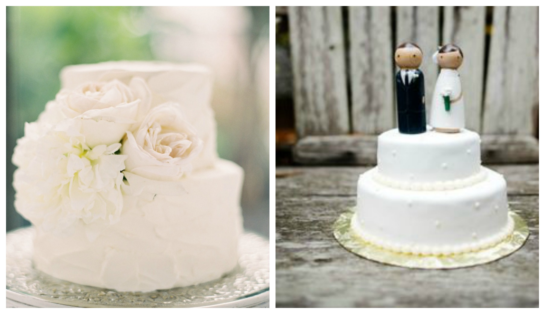 Small Wedding Cake Toppers