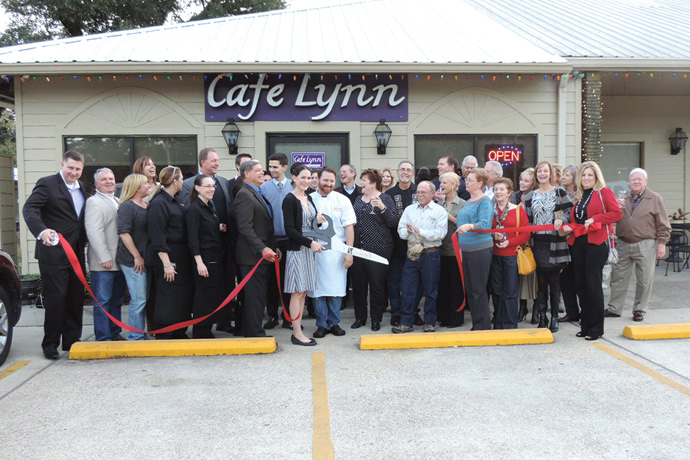 Café Lynn celebrates expansion into its new location at 2600 Florida Street in Mandeville.