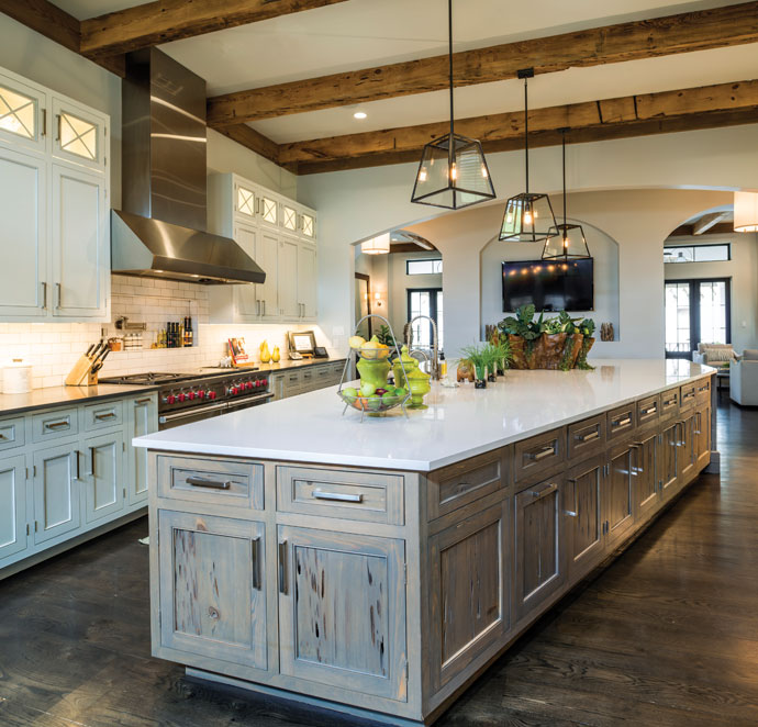 Kitchen Living Sophisticated Woman Magazine
