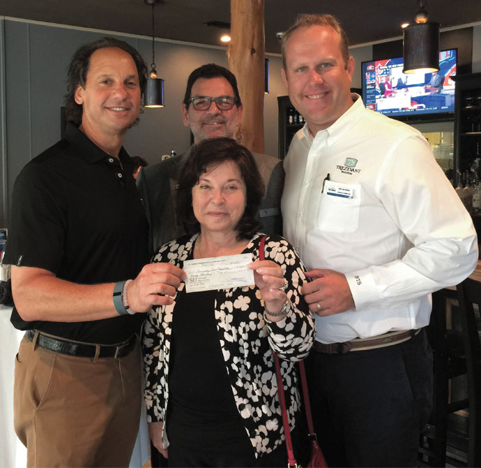The St. Tammany Home Builders Association recently presented the Tammany Trace Foundation with a $200,000 check for Kids Town—an interactive exhibit currently being constructed behind Kids Konnection Playground on Koop Drive in Mandeville.