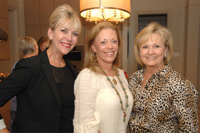 Hosts C.J. Ladner and Suzie Villere with W.A.T.C.H. Co-Chair Patsy Lang.