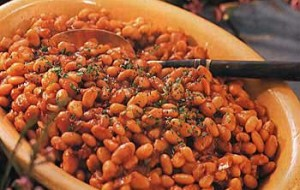 Hot and Smoky Baked Beans