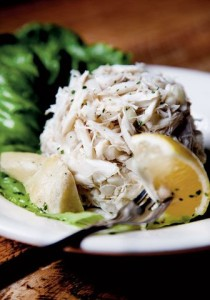 Crabmeat Salad. photo via Pinterest, source unknown.