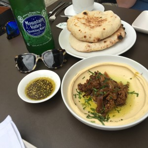 Shaya curried cauliflower hummus, Photo by Maggie Robert