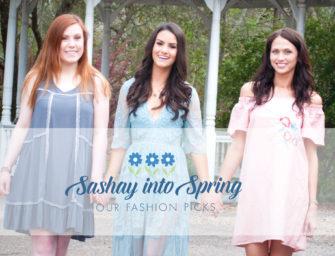 Sashay into Spring